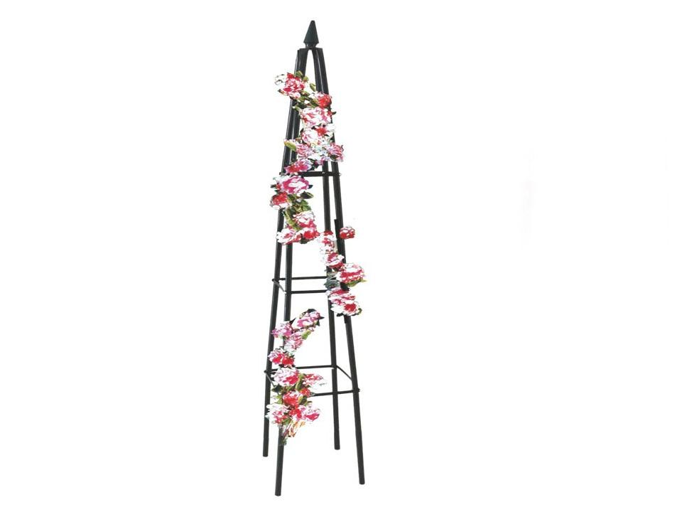 /><br /> <br /> <big><big>Jednoduchý  klenutý oblouk z oceli, s elegantním designem je ideální jako podpora  pro plazení rostoucích růží nebo jiných květin. Umístění oblouku na  příjezdové cestě, na vchodu do zahrady, vstupu na terasu, k altánu nebo  jako prostorové oddělení ve vaší zahradě.</big></big><br /> <big><big>Snadno se instaluje a dokonale zapadá do jakékoliv zahrady. Součástí balení nejsou upevňovací háčky, popř. jiné předměty.</big></big><br /> <img style=