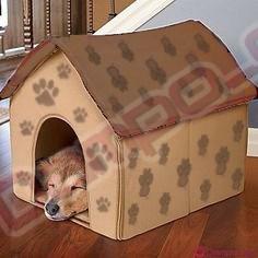 /><br /> <br /> <big><big>Tento pelíšek pro psy patří mezi luxusní boudičky. <span style=