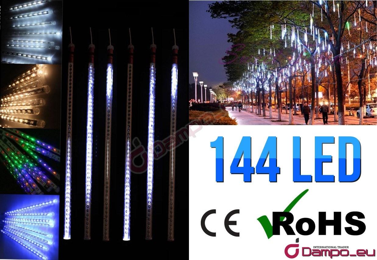 /><br /> <br /> <br /> <big>Tento světelný závěs je vhodný k vánoční výzdobě oken, balkónů, zábradlí, domu apod.<br /> Disponuje 144 LED barevnými diodami, které vytvoří úžasné světelné  efekty jak ve Vašem zahradě, domě, tak ve výlohách a jiných plochách.  Podporuje pěknou vánoční atmosféru</big><br /> .<br /> <img style=