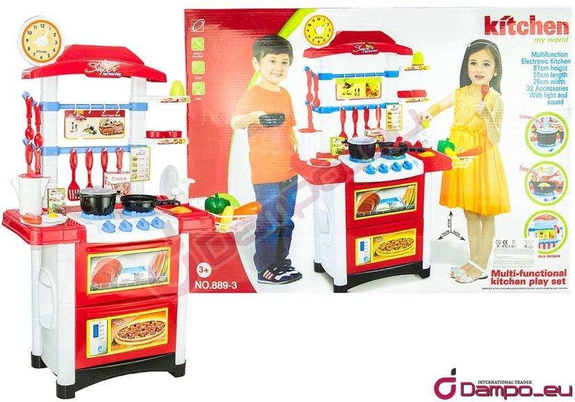 /></big><br /> </big>Představujeme Vám interaktivní dětskou kuchyňku, která je plně vybavené. <span style=