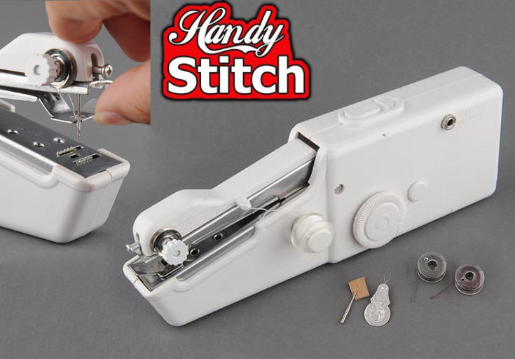 /></big></big><br /> <big><big>Handy Stitch je ruční šicí stroj, který nabízí výhody velkého šicího stroje a zároveň umožňuje snadné a flexibilní použití díky ručnímu provedení. Kompaktní rozměr a lehkost zajistí maximální pohodlí při práci. Ruční šicí stroj padne perfektně do ruky a je vhodný jak pro začátečníky, tak pro experty. Díky provozu na baterie a velkému výkonu vytvoříte vždy pevný šev a to kdykoliv a kdekoliv.</big></big><br /> <big><big><img style=