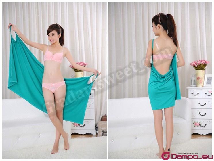 Plážové zavinovací šaty pareo sarong ručník  6dd9a6ce20